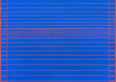 bleu-azur-2018-pigments-liant-sur-lin-130x97cm-©Claire-de-Chavagnac-Brugnon-